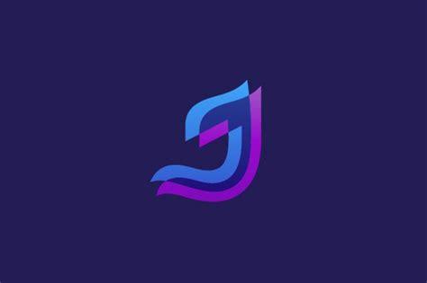 Overlap Letter J Logo ~ Logo Templates ~ Creative Market J Logo