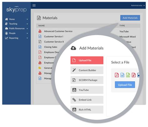 online tutorial software online training platform features skyprep
