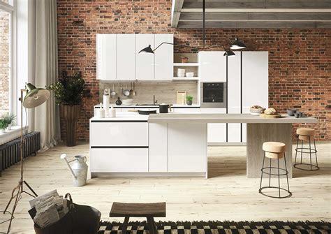 cucine a vista sul soggiorno cucine a vista proposte economiche per piccole