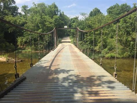 swinging bridges missouri i found this bridge hard to find this may help it is a