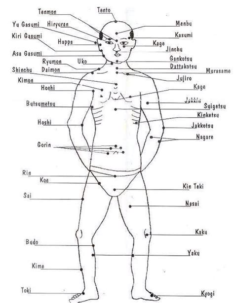 pressure point diagram 19 curated kyusho jitsu ideas by egjkuhn pressure points