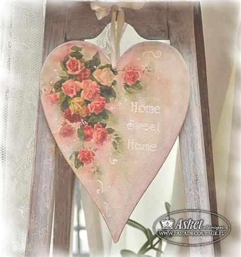 Decoupage Hearts - decoupage swiat wed蛯ug asket kursy decoupage w