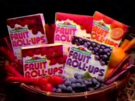 fruit roll ups commercial fruit corners fruit roll ups commercial feat kirk cameron
