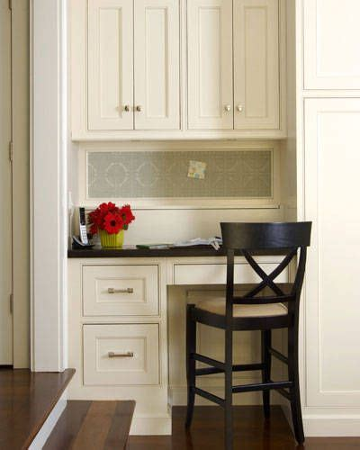 kitchen cabinet desk ideas kitchen desk area kitchen gadgets and ideas pinterest