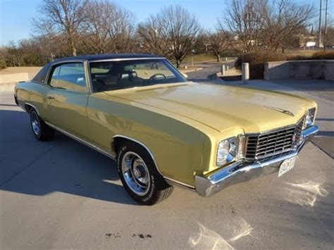 rare 1972 chevy monte carlo all numbers matching 402 big block car youtube