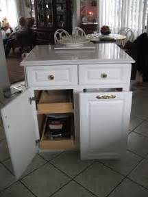 kitchen island with trash bin home design build a kitchen island with trash storage diy projects