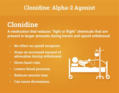 Clonidine For Detox by Addiction Treatment For Heroin And Other Opioids