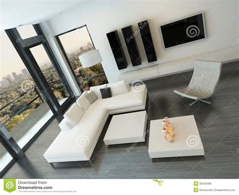 top view living room top view of white living room interior royalty free stock image image 36433466