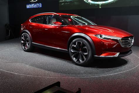 mazda will go for the subaru outback with its