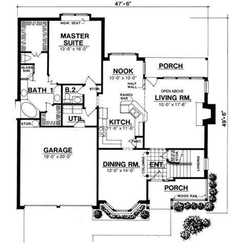 2000 sq ft open floor house plans 2000 sq ft house plans house plans designs