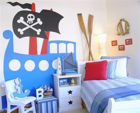 kids pirate bedroom ideas giant pirate ship wall decal for kids rooms boing boing