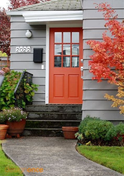 blue house orange door 25 best ideas about orange door on pinterest orange