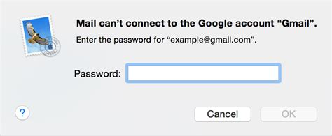 if mail on your mac keeps asking for your password apple support