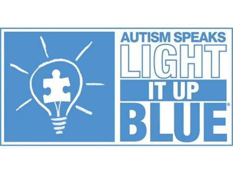 light it up blue for autism world autism awareness day light it up blue april 2
