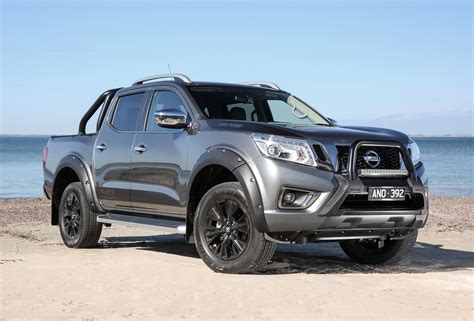 nissan navara 2017 black news nissan australia introduces navara n sport black