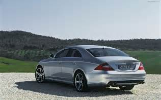 2009 mercedes cls 63 amg widescreen car