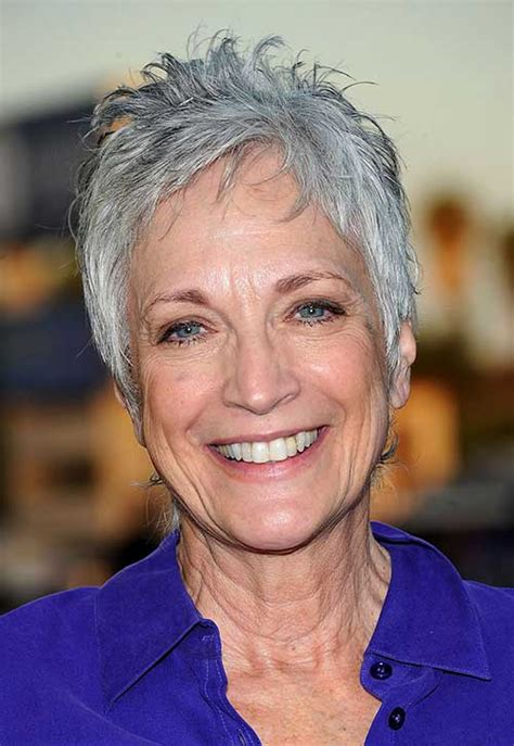 gray hair styles for 50 plus 15 pixie hairstyles for over 50 short hairstyles 2016