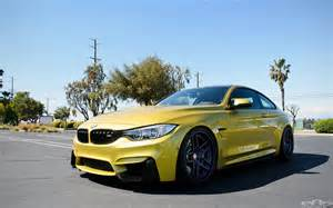 Bmw M4 Yellow Yellow Bmw F82 M4 Gets Some Visual Upgrades