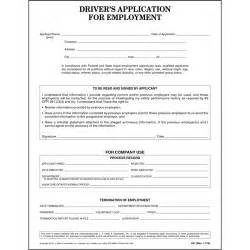 driver s application for employment ada compliant