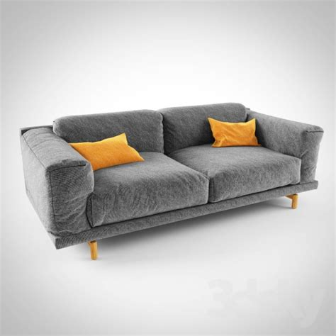 muuto rest sofa studio 3d models sofa muuto rest sofa