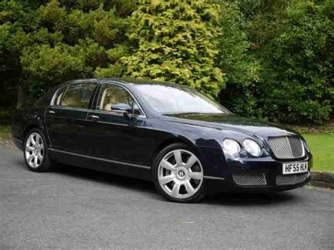 bentley 2005 continental flying spur 6 0 w12 4dr auto car