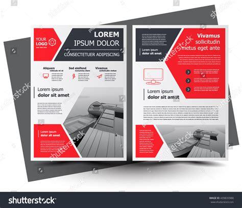 leaflet design size flyer brochure design business flyer size a4 template