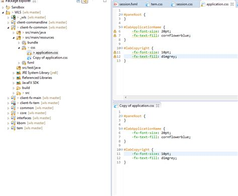 layout editor doesn t work eclipse eclipse community forums e fx clipse 187 css editor doesn t