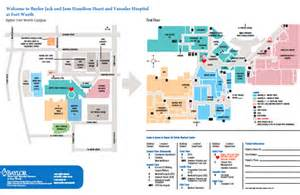 Baylor Dallas Map by Baylor Heart And Vascular Hospital Directions Fort