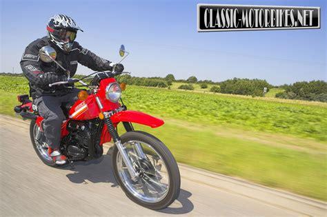 Jok Ts125 Model Builtup suzuki ts250 road test classic motorbikes
