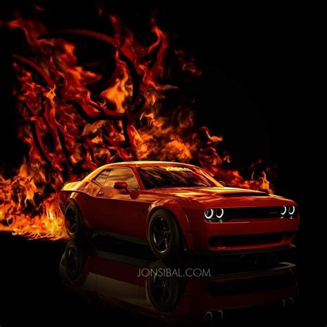 dodge challenger srt demon cgi  spot  carscoops