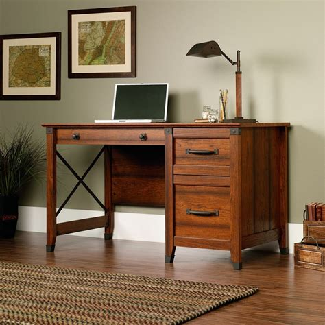Home Office Desks For Two Desks With File Cabinet Drawer For Small Home Offices Bedrooms