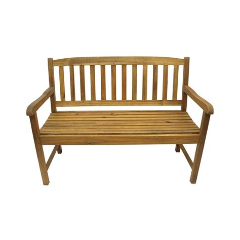 47 quot quot acacia wood outdoor patio furniture bench