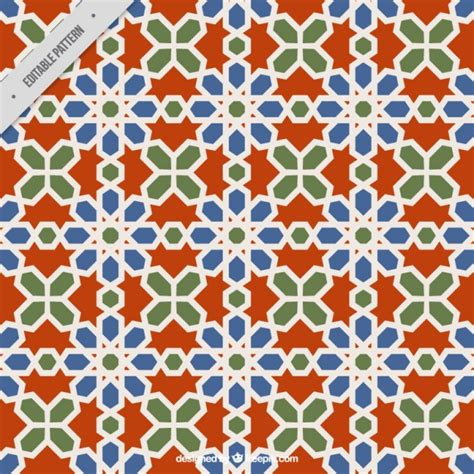 colors islamic mosaic vector premium download patr 243 n de mosaico geom 233 trico descargar vectores premium
