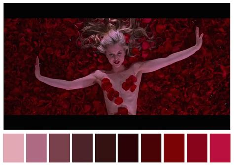 most famous movies color palettes from famous movies show how colors set the