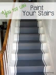 treppen farbe painted therapy painting your stairs
