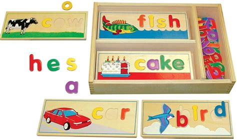 wood pattern and spelling toy spell melissa biography