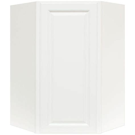 Hton Bay Corner Cabinet Mf Cabinets Hton Bay 32 W Corner Cabinet With Two Wood Doors
