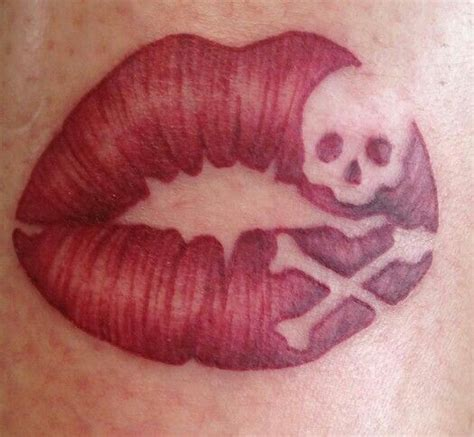 tattoo of lips with skull 63 best images about tattoos on pinterest dragon tattoos