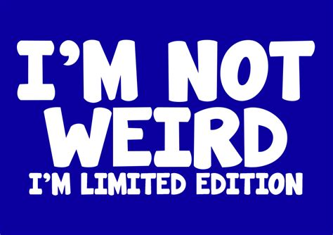 I M i m not i m limited edition t shirt tshirtlegend