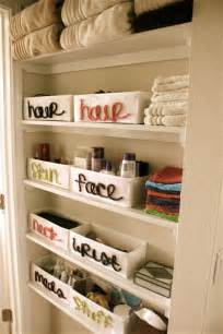 Bathroom Closet Storage Ideas by Bathroom Organization Ideas Dreaming Of June
