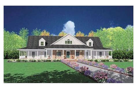 ranch house with wrap around porch this ranch style home with wrap around porch house