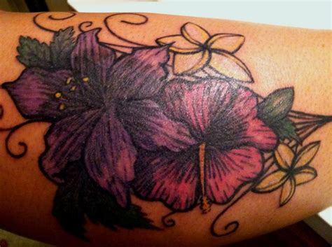 cover up flower tattoos cover up flower on the leg idea s