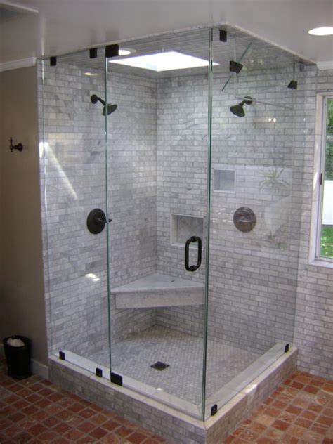 Steam Shower Doors Glass Steam Enclosure Contemporary Los Angeles By Century Shower Door