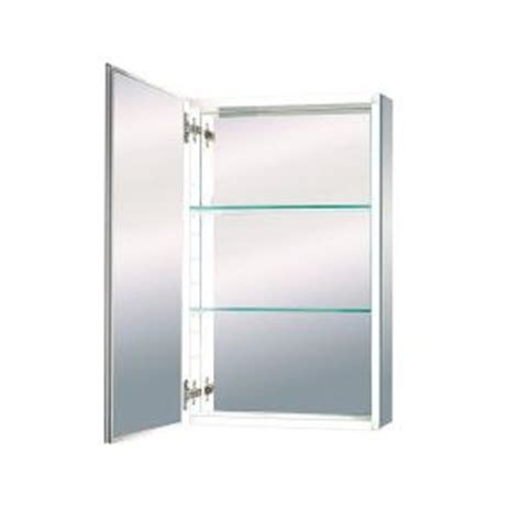 maax evolution 15 in x 26 in mirrored recessed or