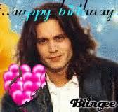 johnny depp birthday card happy birthday picture 118927241 blingee