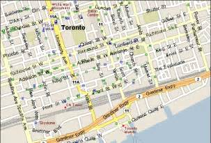 maps toronto canada directions tourist map green tourism and directions september road