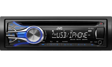 Jvc Car Stereo With Usb Port jvc kd r53 cd car stereo front aux usb port with speed ipod ebay