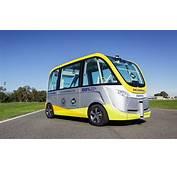 Australia Testing Self Driving Electric Bus
