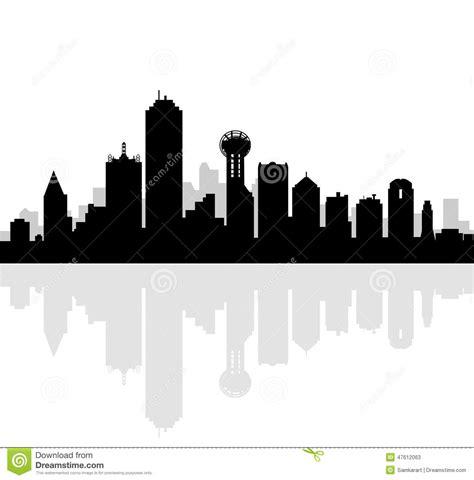 3d Animal Sketch 3 Tx dallas skyline vector stock vector image 47612063