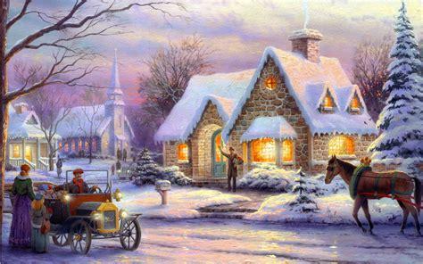 christmas art wallpapers high quality